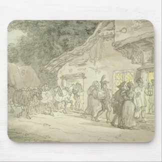 Waggonerの残り、c.1800-05 (ペン及びインクおよびw/c マウスパッド