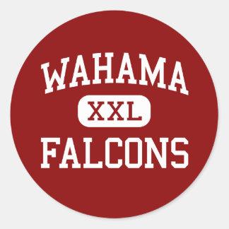 Wahama - 《鳥》ハヤブサ-ウェストヴァージニア高石大工 ラウンドシール