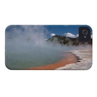 WAI-O-TAPUにシャンペンのプールから上がる蒸気 Case-Mate iPhone 4 ケース