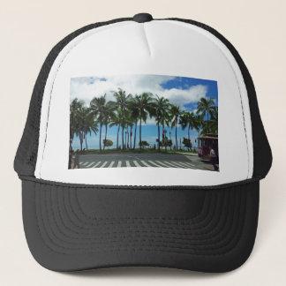 Waikikiのビーチハワイ キャップ