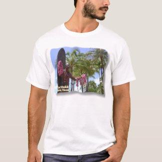 WaikikiのビーチホノルルのWaikikiのStatue公爵 Tシャツ