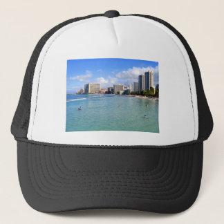 Waikikiのビーチ、オアフ、ハワイ キャップ