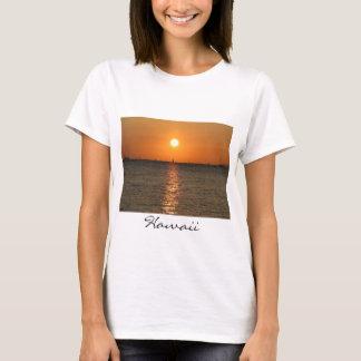 Waikikiの日没のベビードールT Tシャツ