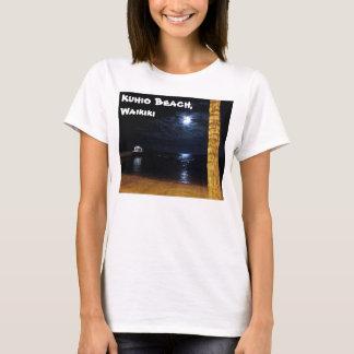 WaikikiのMoonriseの女性のTシャツ Tシャツ