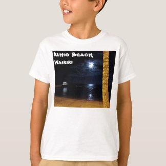 WaikikiのMoonriseの子供のTシャツ Tシャツ