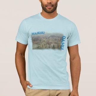 Waikikiオアフメンズワイシャツ Tシャツ