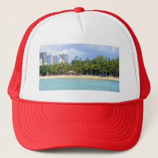 Waikiki、オアフ、ハワイのKuhioのビーチ キャップ