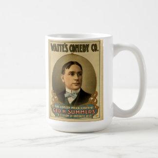 Waiteの喜劇Co. - Geo。 H.夏のマグ コーヒーマグカップ