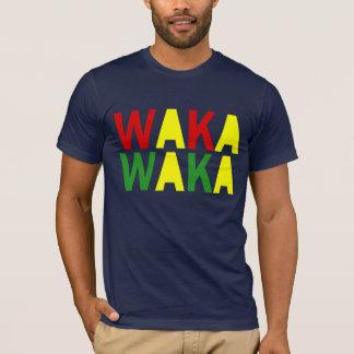 Waka Wakaアフリカのワイシャツ Tシャツ