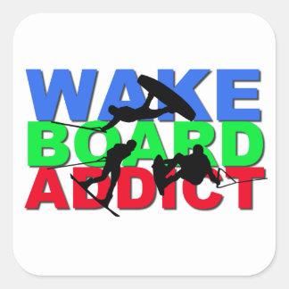Wakeboardの常習者 スクエアシール