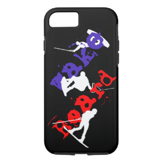 Wakeboard Silhouettes iPhone 8/7 Case iPhone 8/7ケース