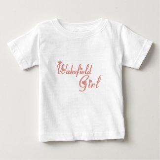 Wakefieldの女の子 ベビーTシャツ