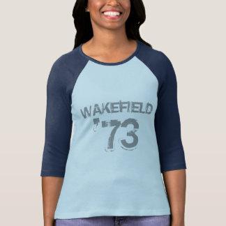 Wakefield 「73 -女性3/4 tシャツ