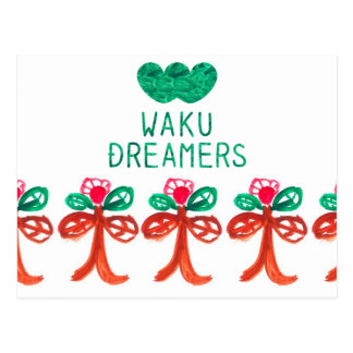 WAKU MESSAGE CARD ~Art by kids of Philippines~ ポストカード