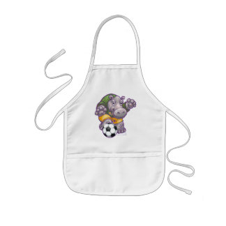 WALのサッカー 子供用エプロン