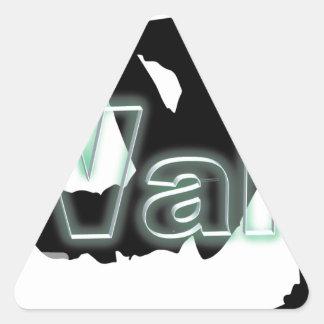 Walaのブランド 三角形シール