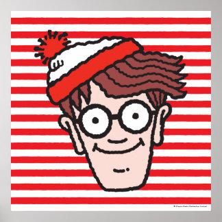 Waldoがいるところで直面して下さい ポスター
