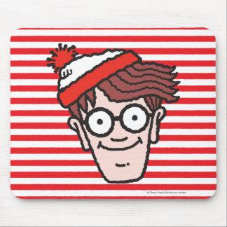Waldoがいるところで直面して下さい マウスパッド