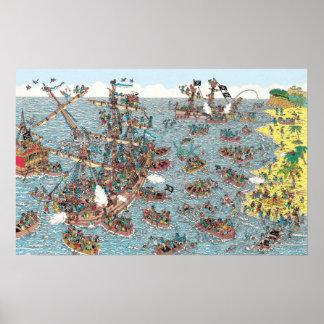Waldoが海賊である いるところ ポスター