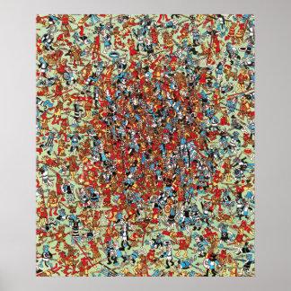 Waldoが なんとドッグファイトいるところ ポスター