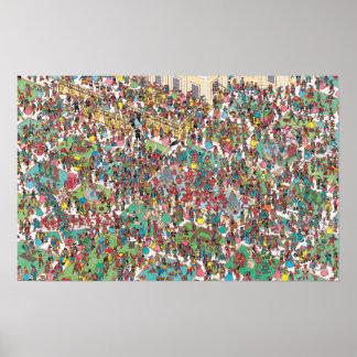 Waldoが  Swashbuckling Muskeetersいるところ ポスター