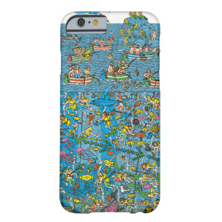 Waldoの深海のダイバーがいるところ Barely There iPhone 6 ケース