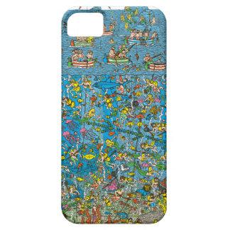 Waldoの深海のダイバーがいるところ iPhone SE/5/5s ケース