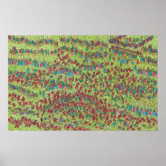 Waldo  のどう猛な赤色矮星がいるところ ポスター