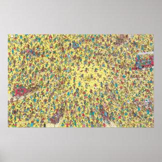 Waldo  のゴールドラッシュがあるところ ポスター