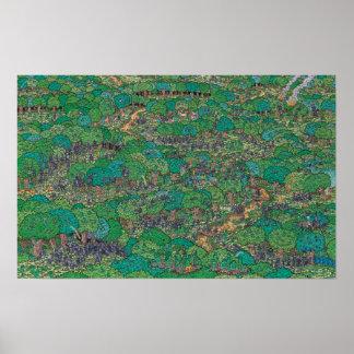 Waldo  の戦いが森林官であるところ ポスター