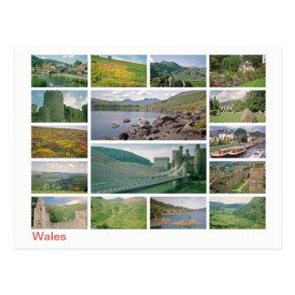 Wales multi-image ポストカード