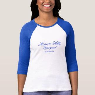 wallaのwallaのMission Hillsのブドウ園 Tシャツ