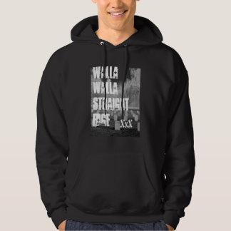 Walla Wallaのまっすぐな端 パーカ