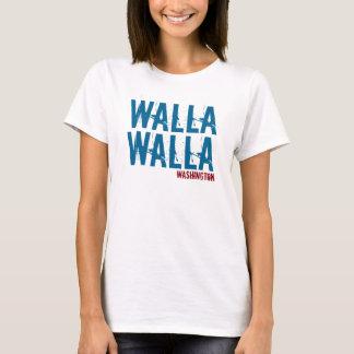 Walla Wallaワシントン州のワイシャツ Tシャツ