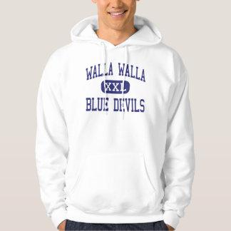 Walla Walla -ブルーデビル-高Walla Walla パーカ