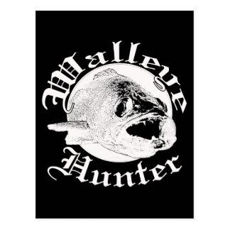 Walleyeのハンターw ポストカード