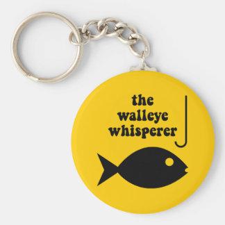 walleyeの囁くものの魚釣り キーホルダー