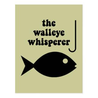 walleyeの囁くものの魚釣り ポストカード