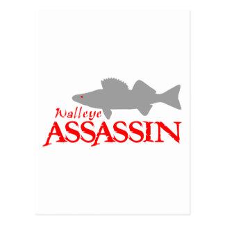WALLEYEの暗殺者 ポストカード