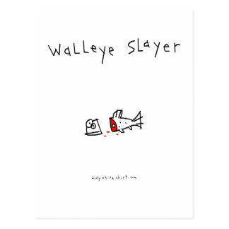 Walleyeの殺害者 ポストカード