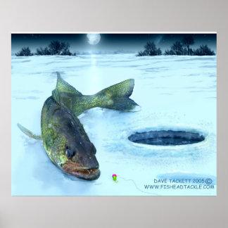 walleyeの氷 ポスター