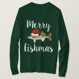 Walleyeの醜いクリスマス Tシャツ