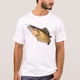 Walleyeの魚釣り Tシャツ
