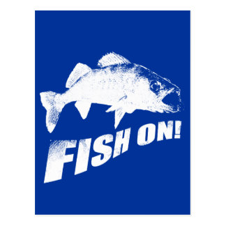 walleyeの魚 ポストカード
