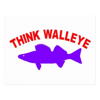 WALLEYEを考えて下さい ポストカード