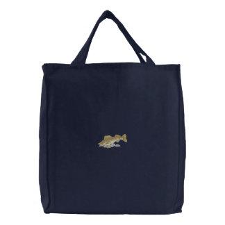 Walleye 刺繍入りトートバッグ