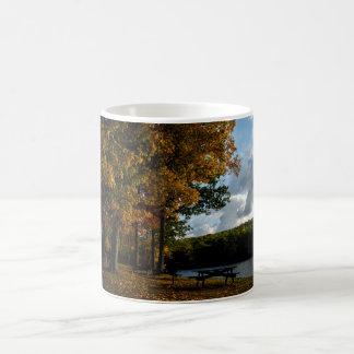 Wallum湖、ダグラス、MA コーヒーマグカップ
