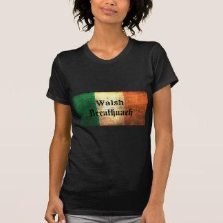 Walshのアイルランド人の旗 Tシャツ