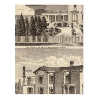 WaltersのCrowellの住宅、農場 ポストカード