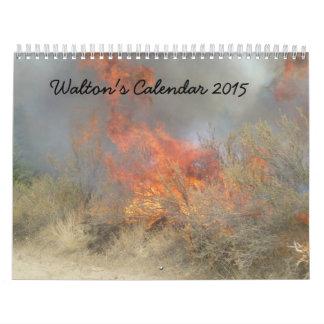 Waltonのカレンダー2015年 カレンダー